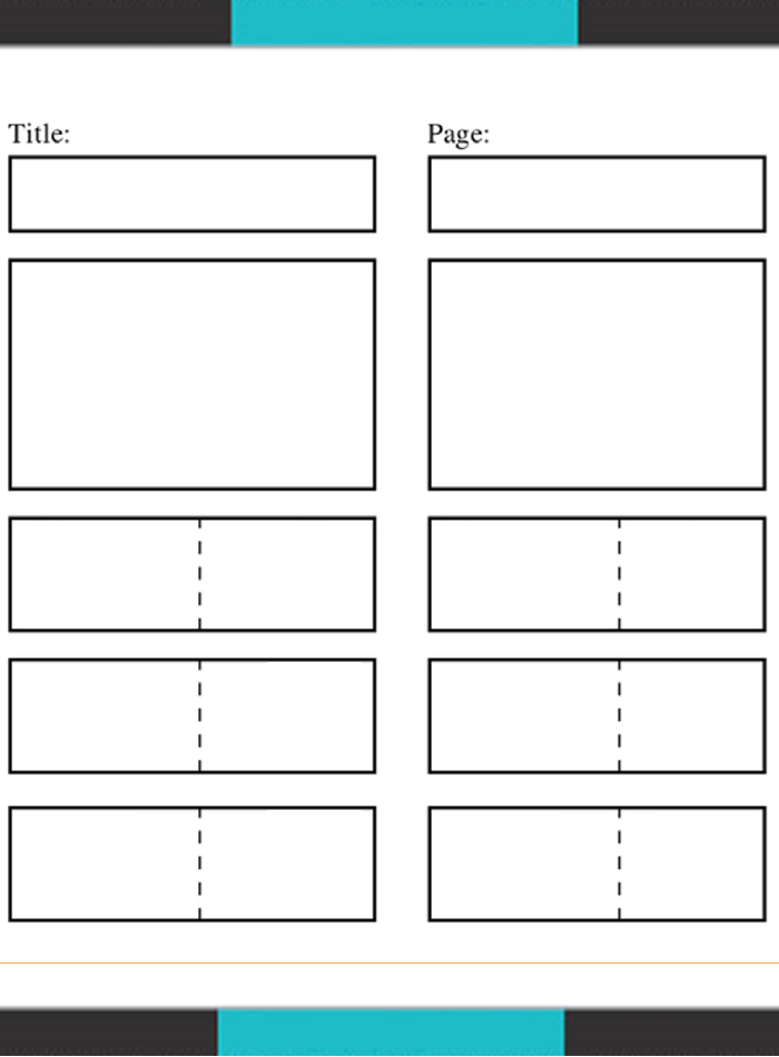 Proficient Film Storyboard Template