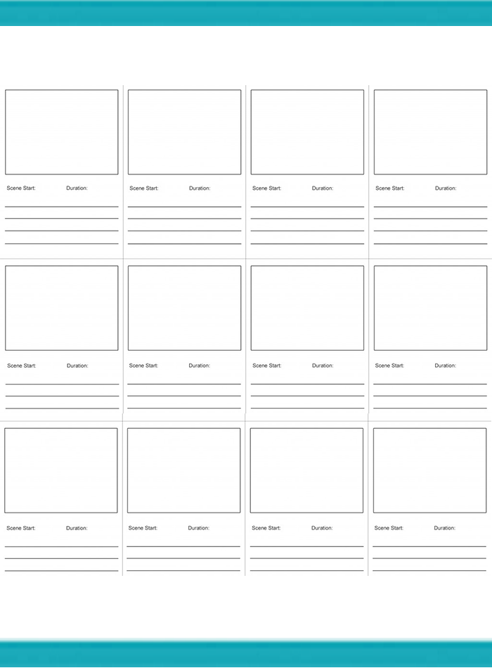 Online Storyboard Template